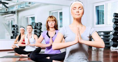 Фитнес-йога