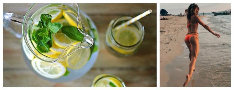 Напиток для похудения. Вода Сасси