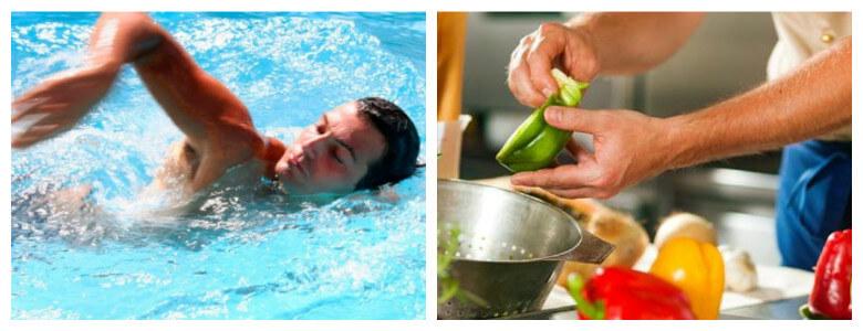 плавание и питание при борьбе с целлюлитом