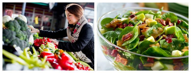 Салат и правильное питание