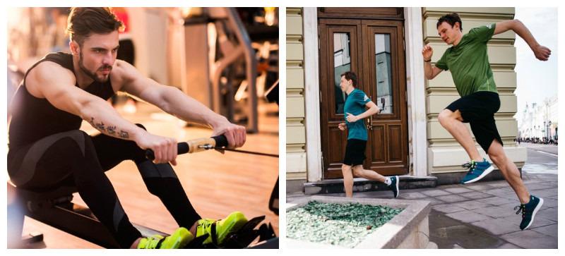 Фитнес тренировки в зале и на улицу