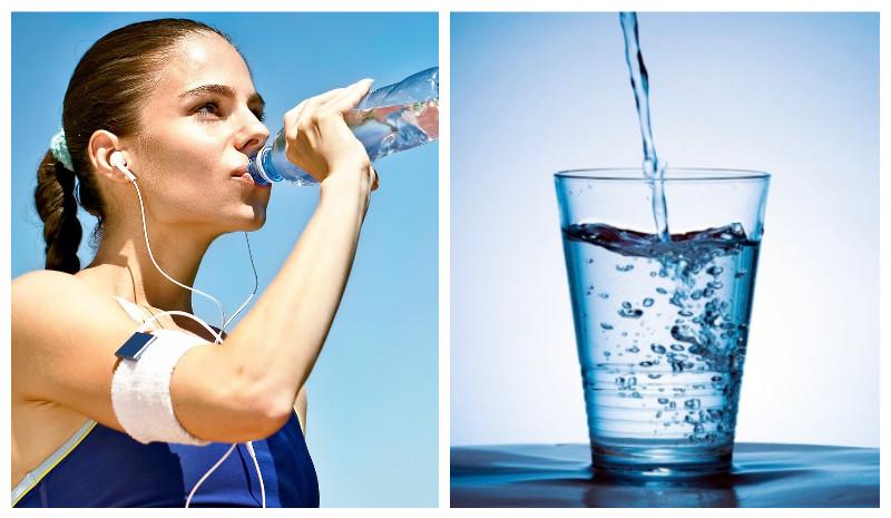 Польза воды при фитнес питании