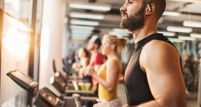 Мужчины и фитнес тренировки