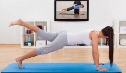 Фитнес дома. Занятия для начинающих